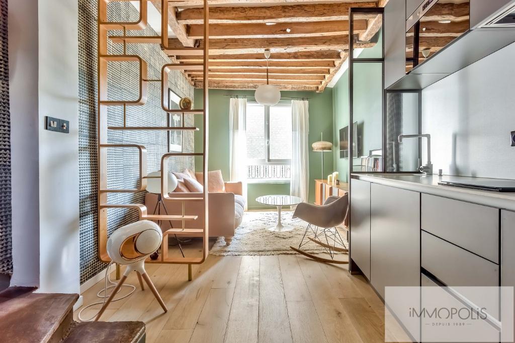 EXCLUSIVE Duplex rue des Martyrs 75018 refurbished! 1