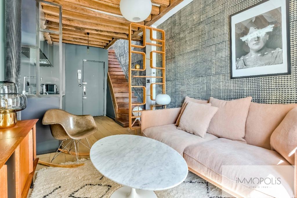 EXCLUSIVE Duplex rue des Martyrs 75018 refurbished! 2