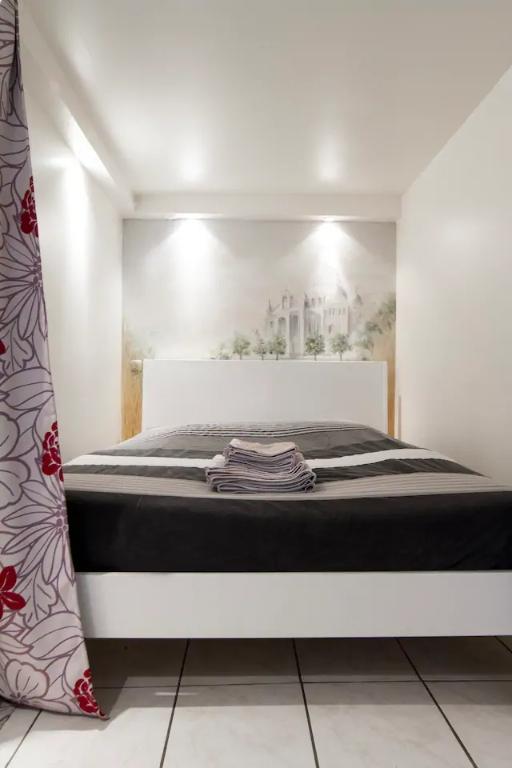 Superbe appartement avec sa cour privative très bien placé à Montmartre ! Location saisonnière possible ! 6