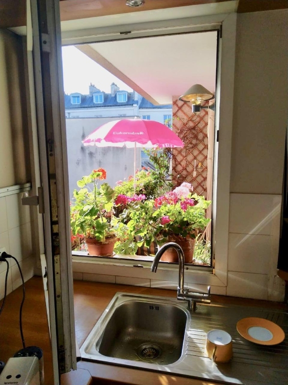 2 ROOMS of 55 m² Balcony Terrace overlooking garden Full SOUTH 12