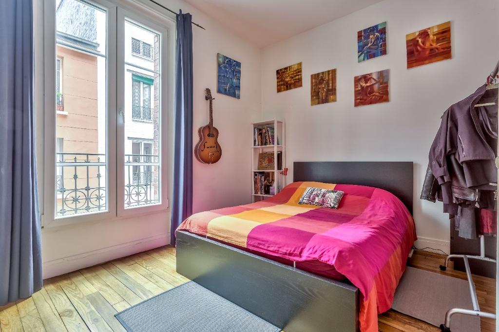 Rue Caulaincourt – 4 room (s) 93 m² – balcony 4