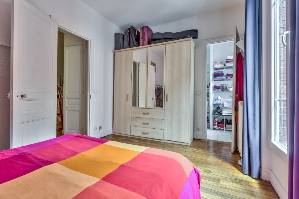 Rue Caulaincourt – 4 room (s) 93 m² – balcony 6