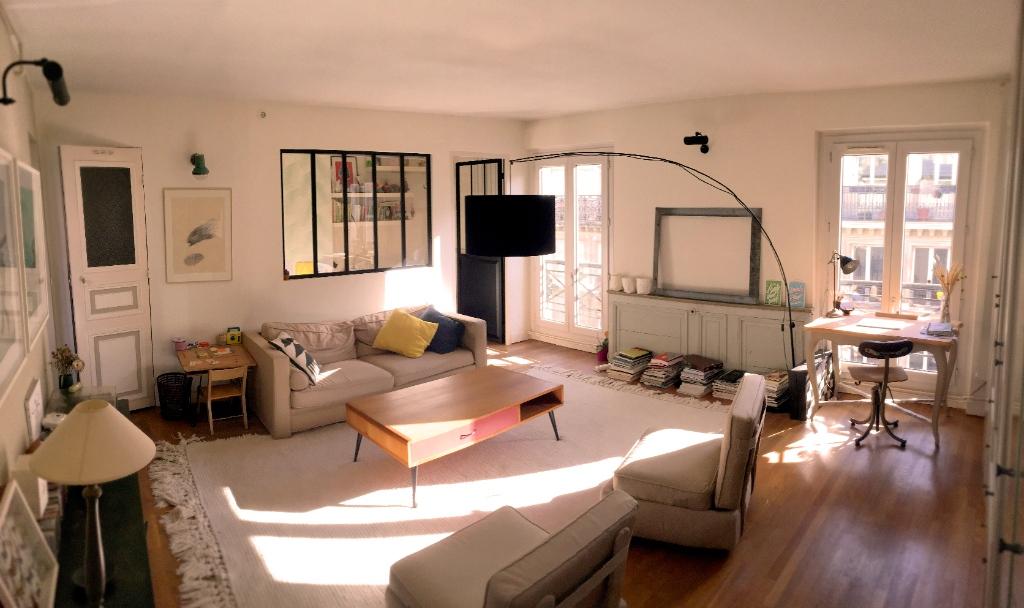 Appartement 75018 3 pièce(s) 52 m² «VILLAGE RAMEY» DERNIER ETAGE 1