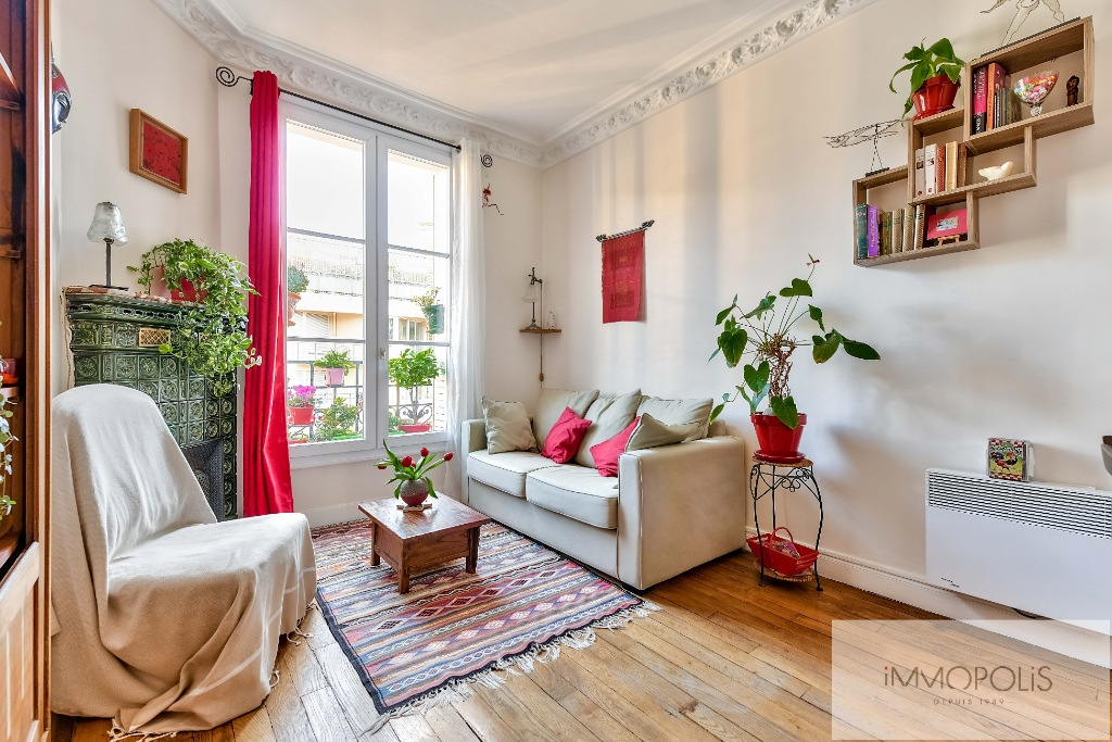 3 Rooms 51M² FULL SUN, SAINT FARGEAU – PARIS 20th 1