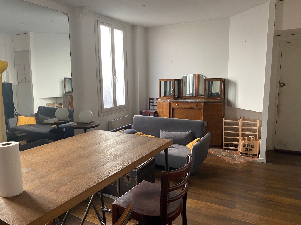 Goutte d'Or sector: Charming 2-room apartment of 38 m² 4