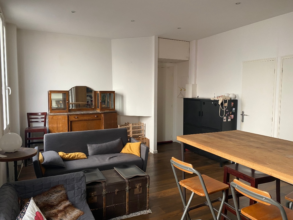 Goutte d'Or sector: Charming 2-room apartment of 38 m² 6