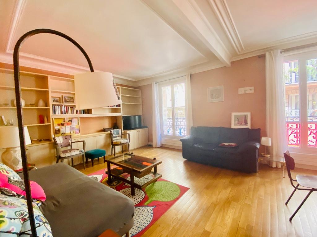 Rue Lamarck Paris 18 – 1 bedroom furnished 53 m2 1