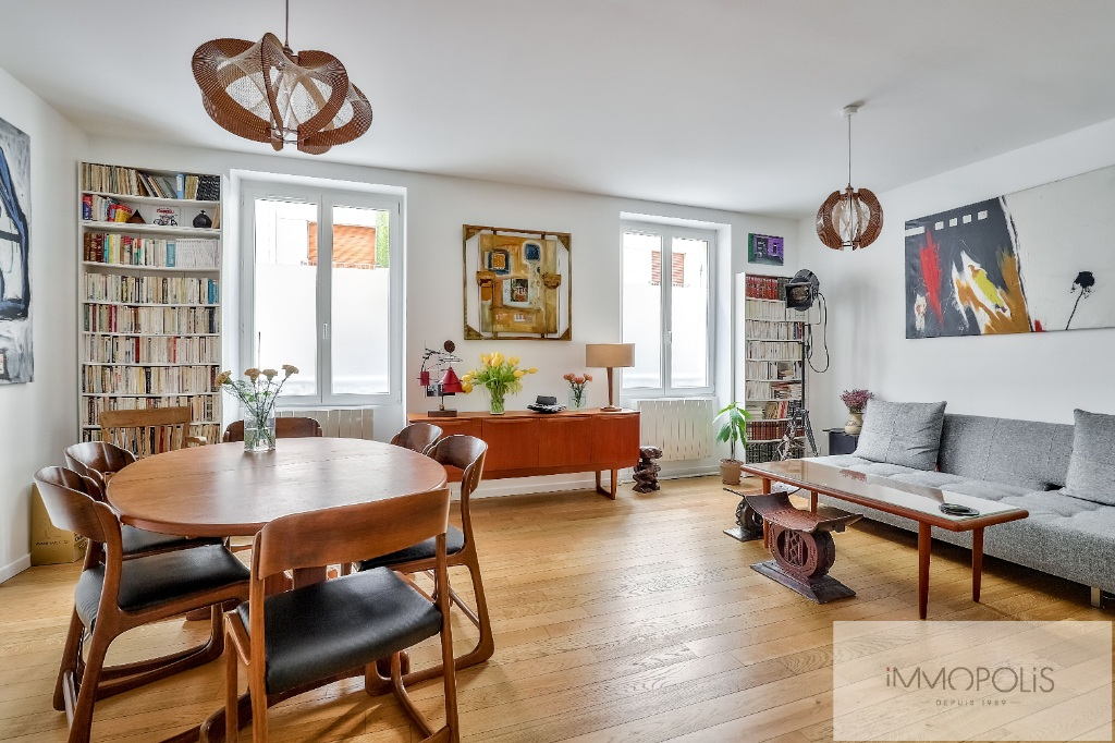 Montmartre Cemetery Beautiful 1 bedroom apartment of 61 m² renovated 6