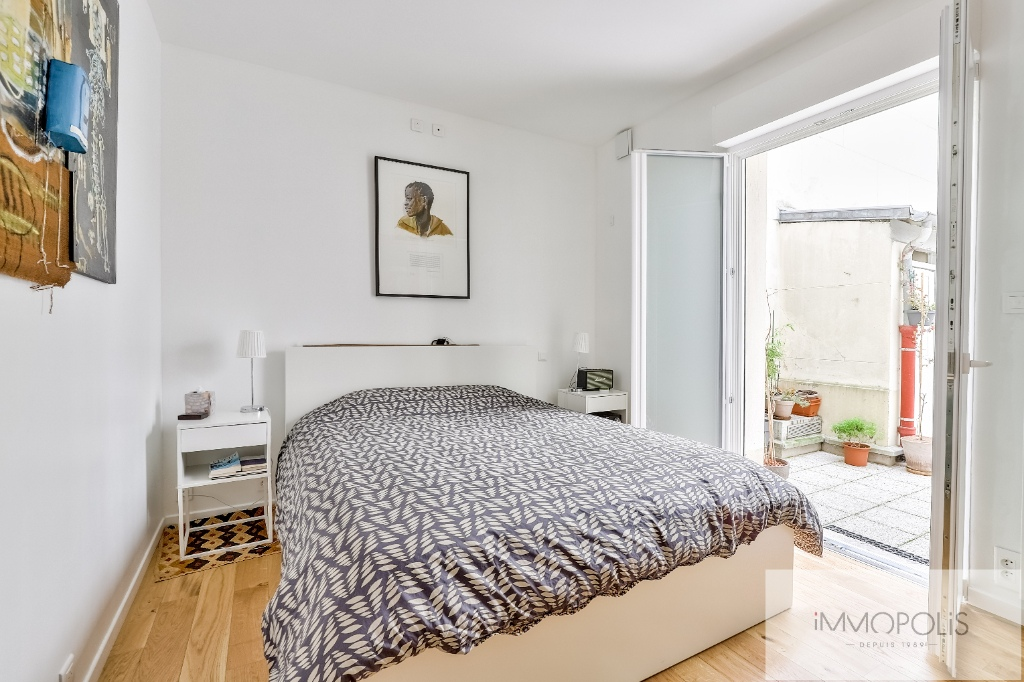 Montmartre Cemetery Beautiful 1 bedroom apartment of 61 m² renovated 9