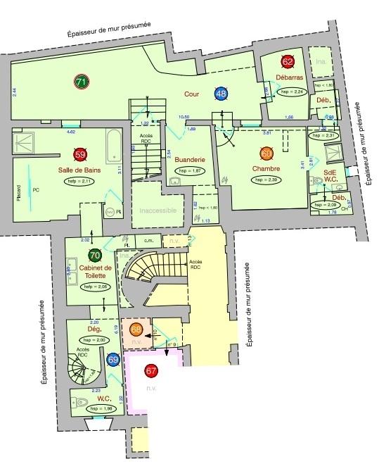 Appartement familial de 218.45 m2 – 4 chambres – 1 terrasse – 1 place de parking 15