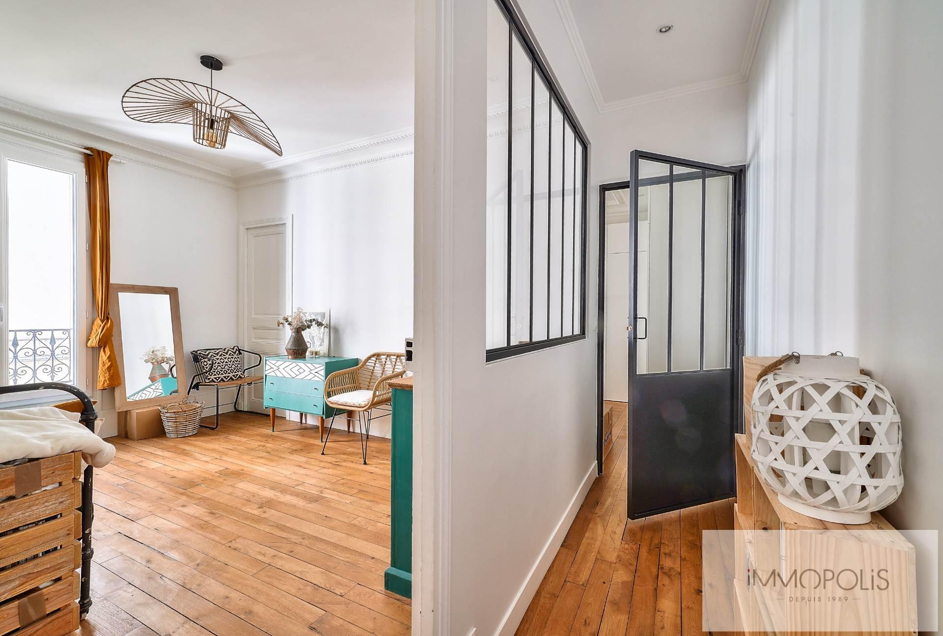Lamarck – Guy Môquet Beau 3 pièces 2 chambres de 55 m² 7