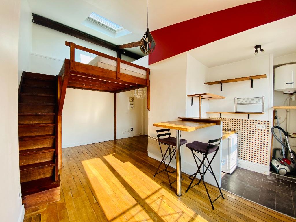 Appartement Paris 1 pièce(s) 22.46 m2 1