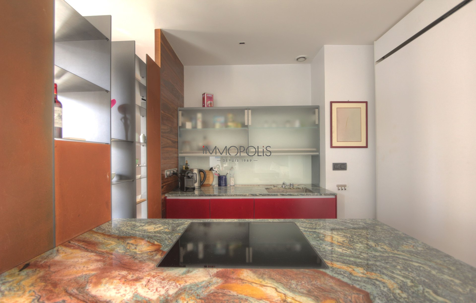 Exceptional in Montmartre (rue Gabrielle): refurbished open space, sumptuous appointments, with balcony and open view! 7
