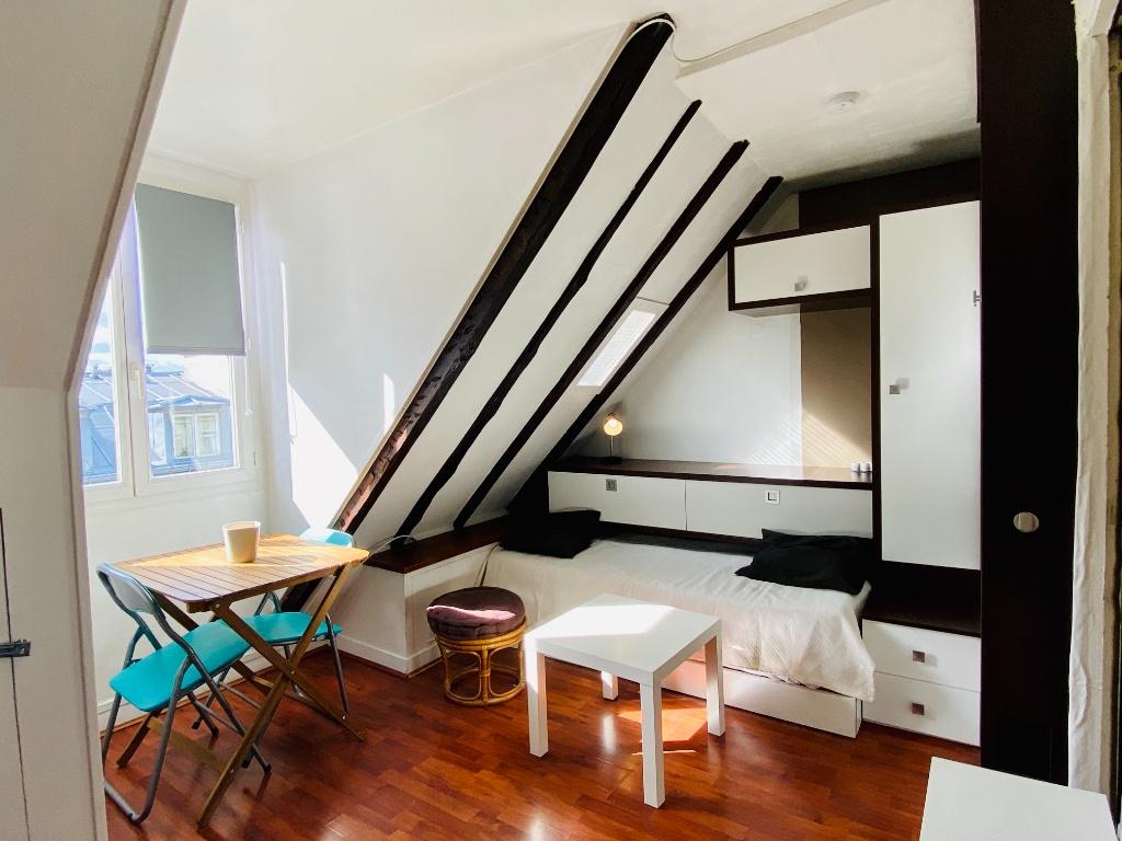 Appartement Paris 1 pièce 10.86 m2 2