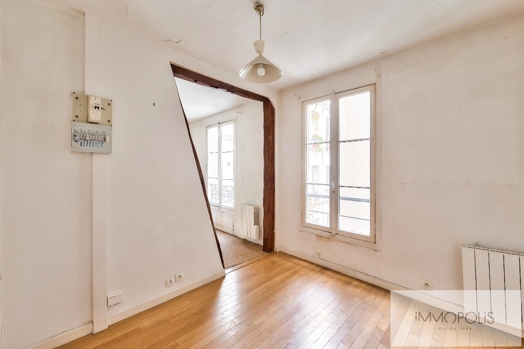 Appartement à rénover rue de Courcelles Paris XVII 3