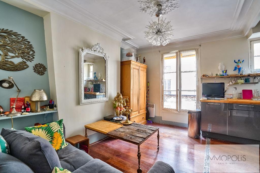 Appartement 3 pièces (une chambre) Rue Marcadet – PARIS XVIIIème 1
