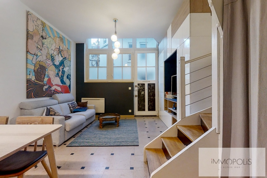 Atelier en plein coeur de Montmartre – Avenue JUNOT 1