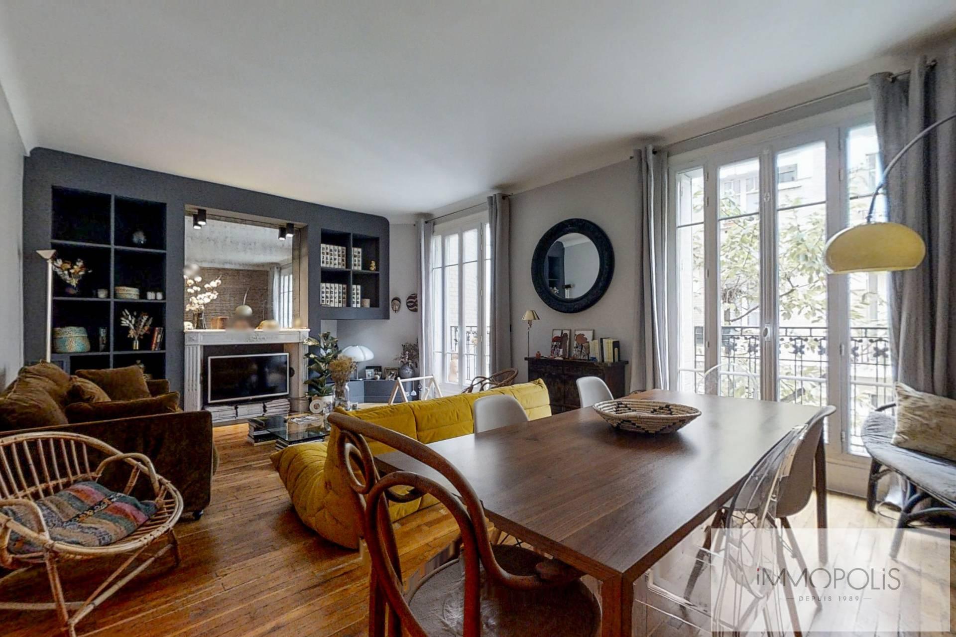 Charming apartment rue Damrémont – Paris XVIII 1