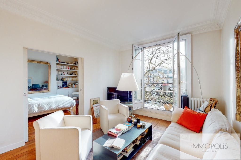 Charming apartment with balcony, butte Montmartre 1