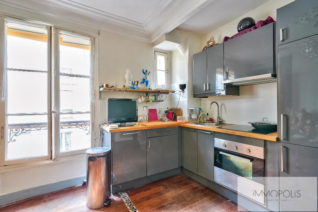 3 room apartment Rue Marcadet – PARIS XVIIIth 2