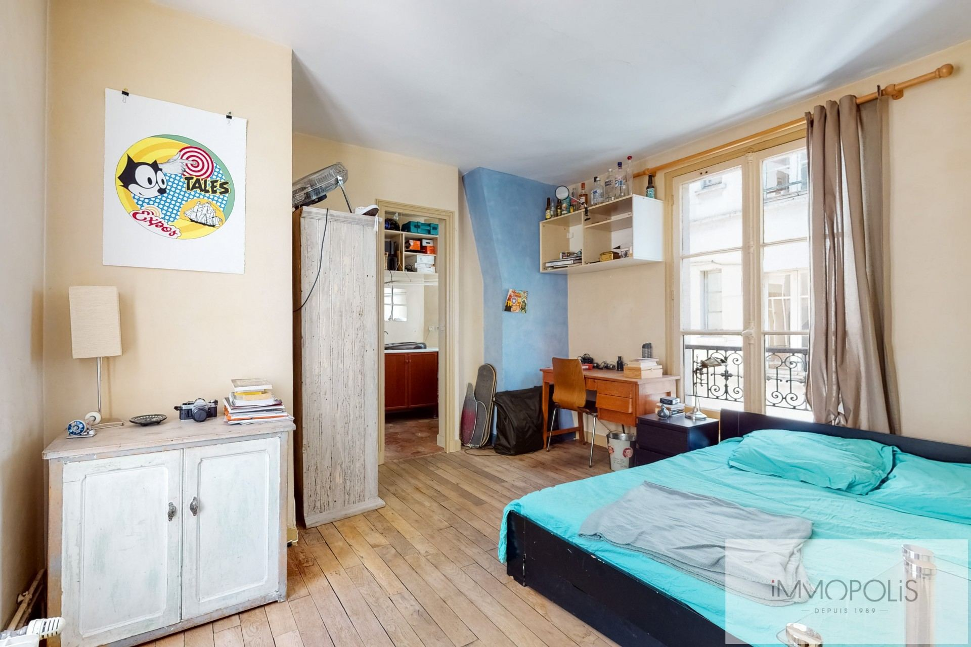 Appartement atypique, plein de charme, Rue Richard Lenoir – Paris XIème 5