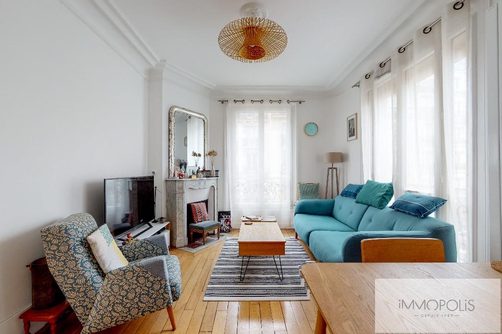 Villa Ordener, 3 charming rooms, Sector Jules Joffrin. 1