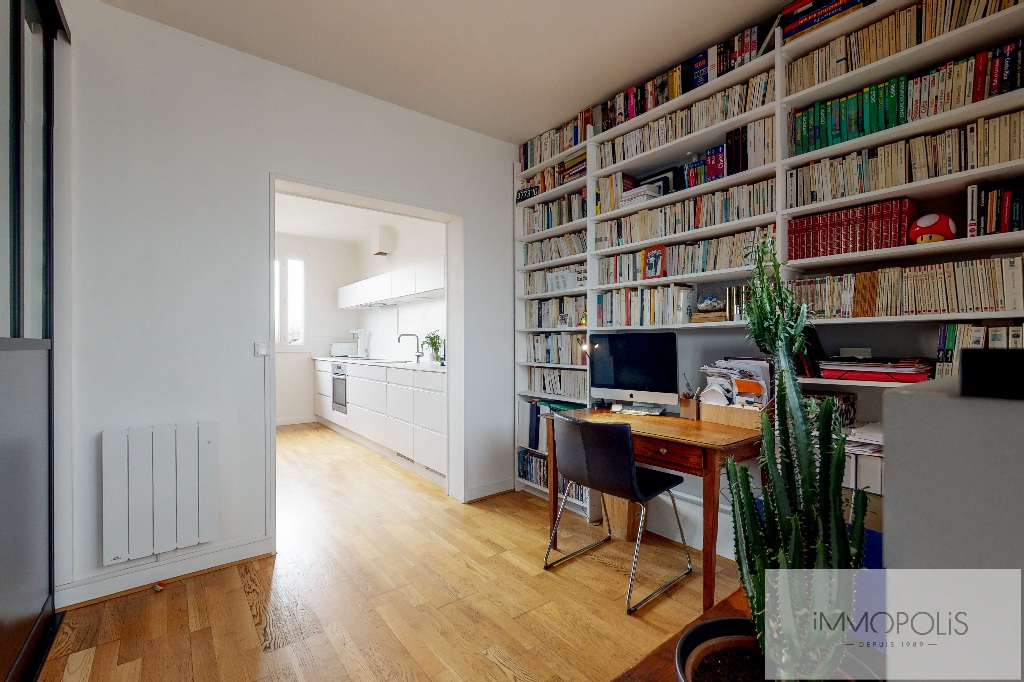 Clichy DUPLEX 124m² floor area – 82m² Carrez Law 11