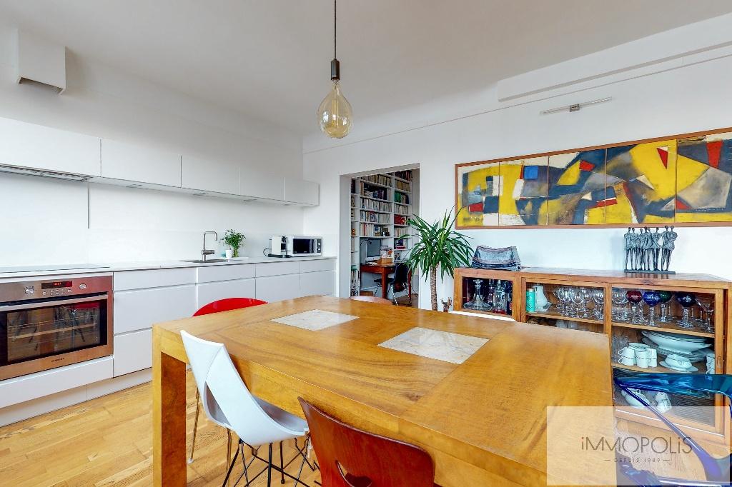 Clichy DUPLEX 124m² floor area – 82m² Carrez Law 6
