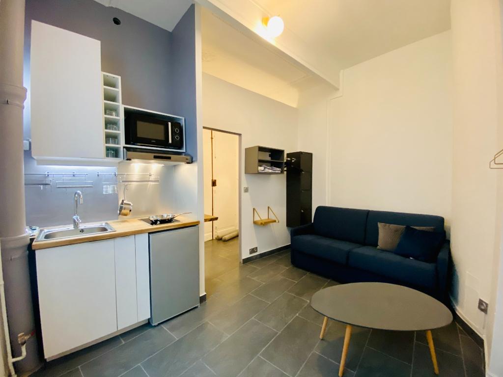 Appartement Paris 1 pièce(s) 20 m2 1