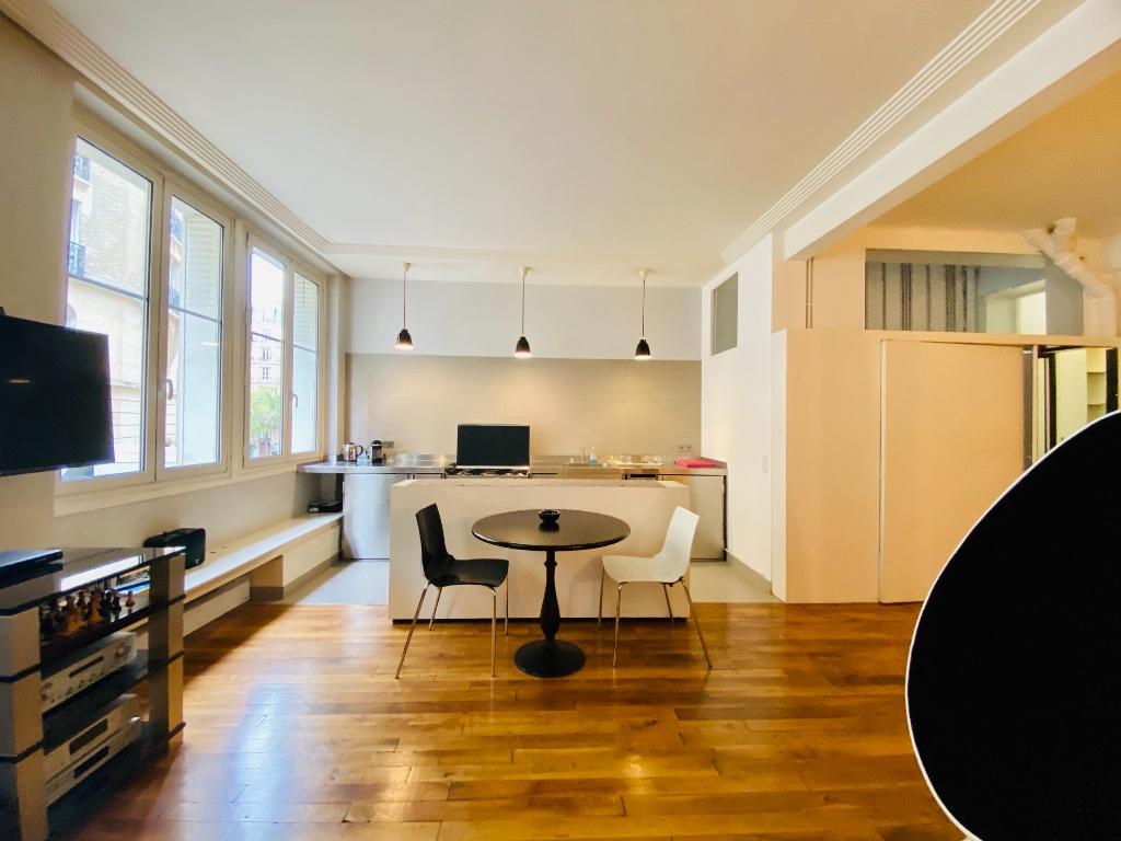 Paris apartment 2 room (s) 53.41 m2 2
