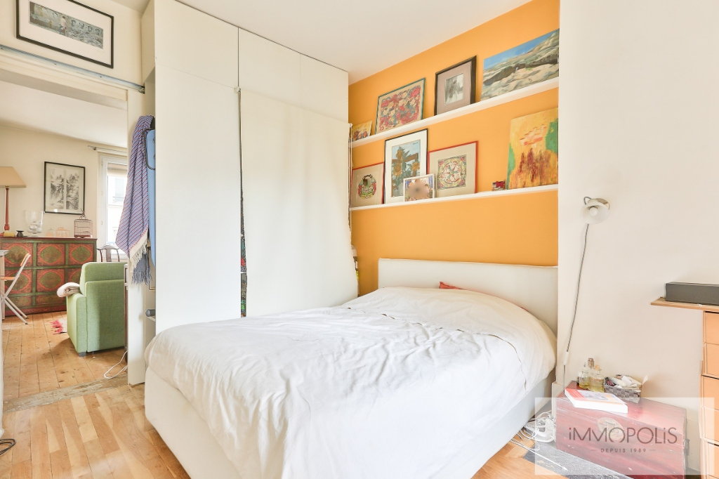 2 rooms 35 m² – large quarries area, Montmartre cemetery 7