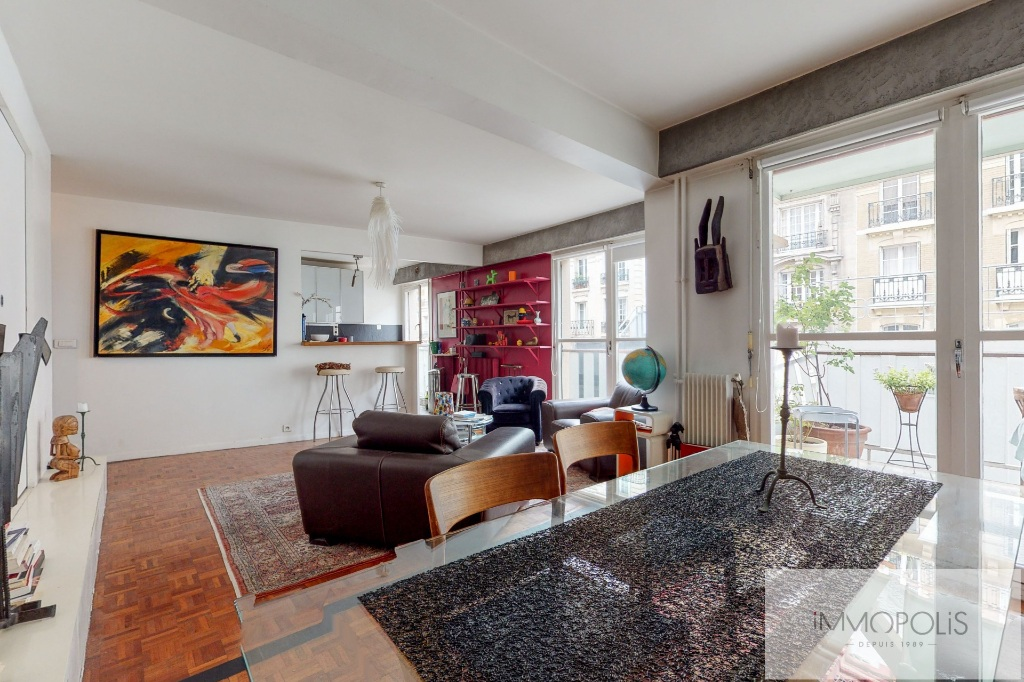 Charming Apartment Guy Môquet Sector with Balcony / Terrace 1