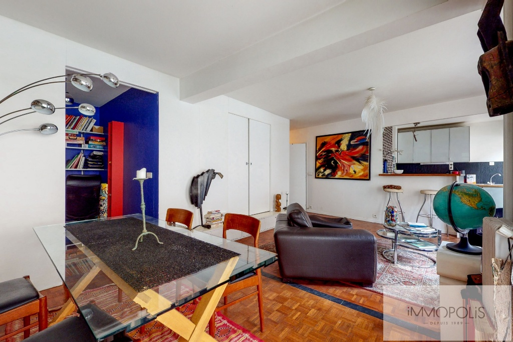 Charming Apartment Guy Môquet Sector with Balcony / Terrace 2