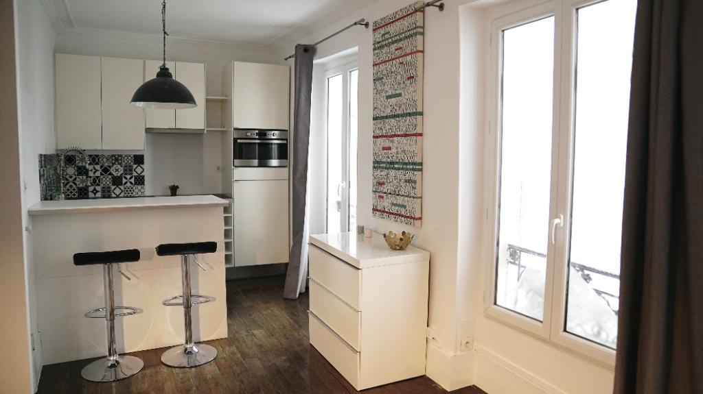 Appartement Paris 1 pièce(s) 25 m2 1