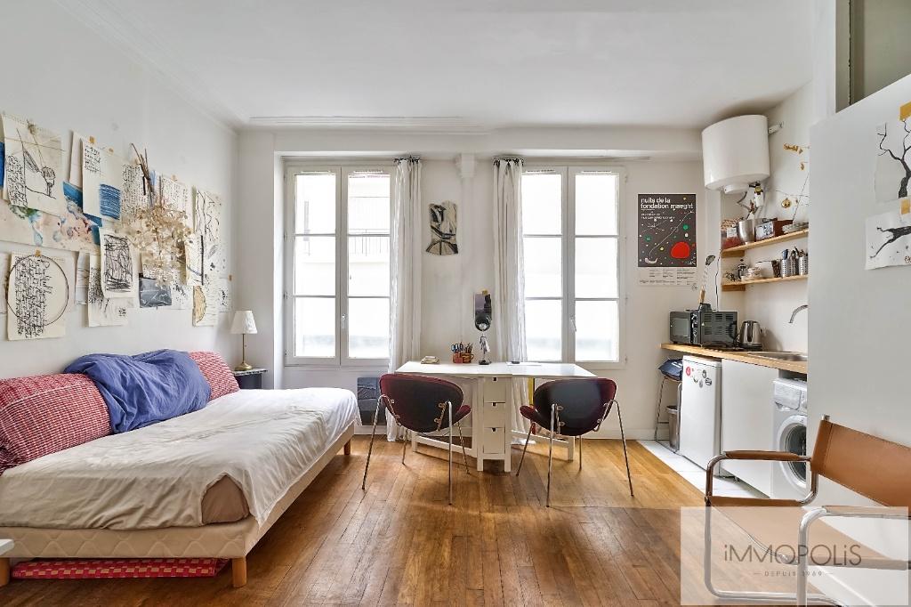 Studio Rue Duhesme – Paris XVIII 1