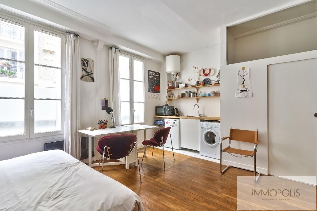 Studio Rue Duhesme – Paris XVIII 2