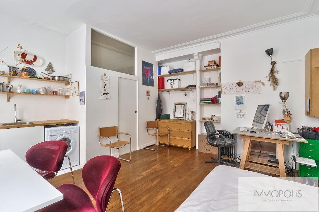 Studio Rue Duhesme – Paris XVIII 4