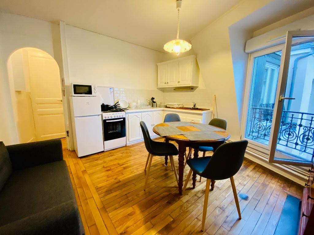 Paris apartment 2 rooms furnished 42 m2 2