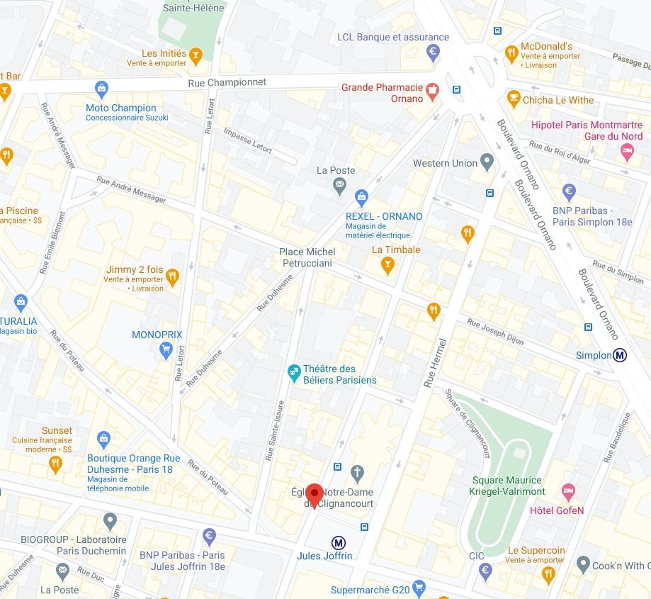 Business very well placed for sale metro SIMPLON (also near Jules Joffrin) 2