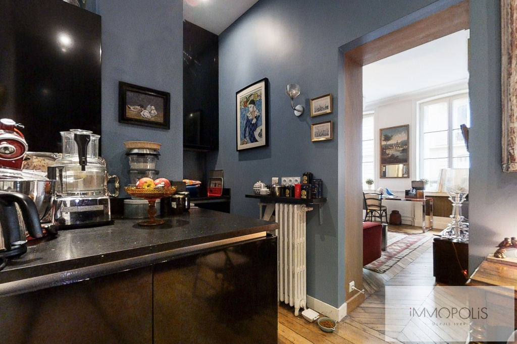 Appartement de charme, rue Moncey, Paris IX. 7