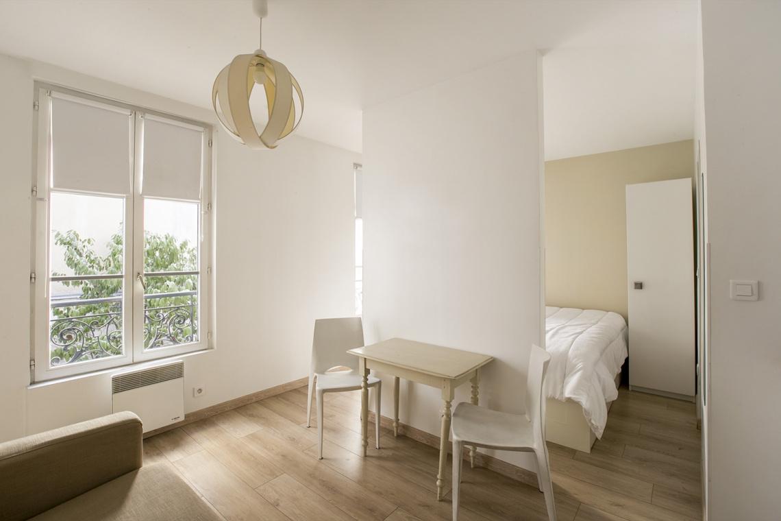 Studio meublé à louer – 22 m² –  Montmartre, Paris 75018 2