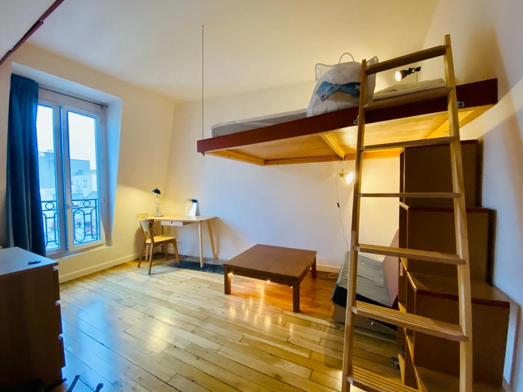 Paris apartment 1 room (s) 19.22 m2 1
