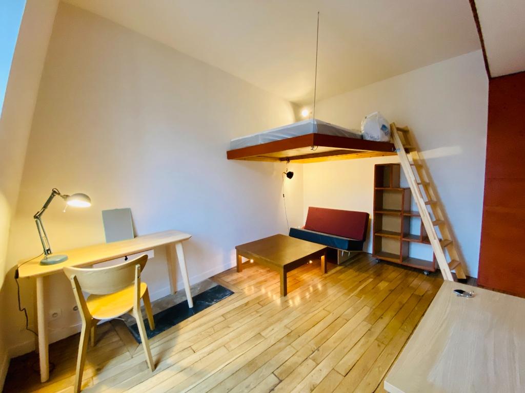 Paris apartment 1 room (s) 19.22 m2 2