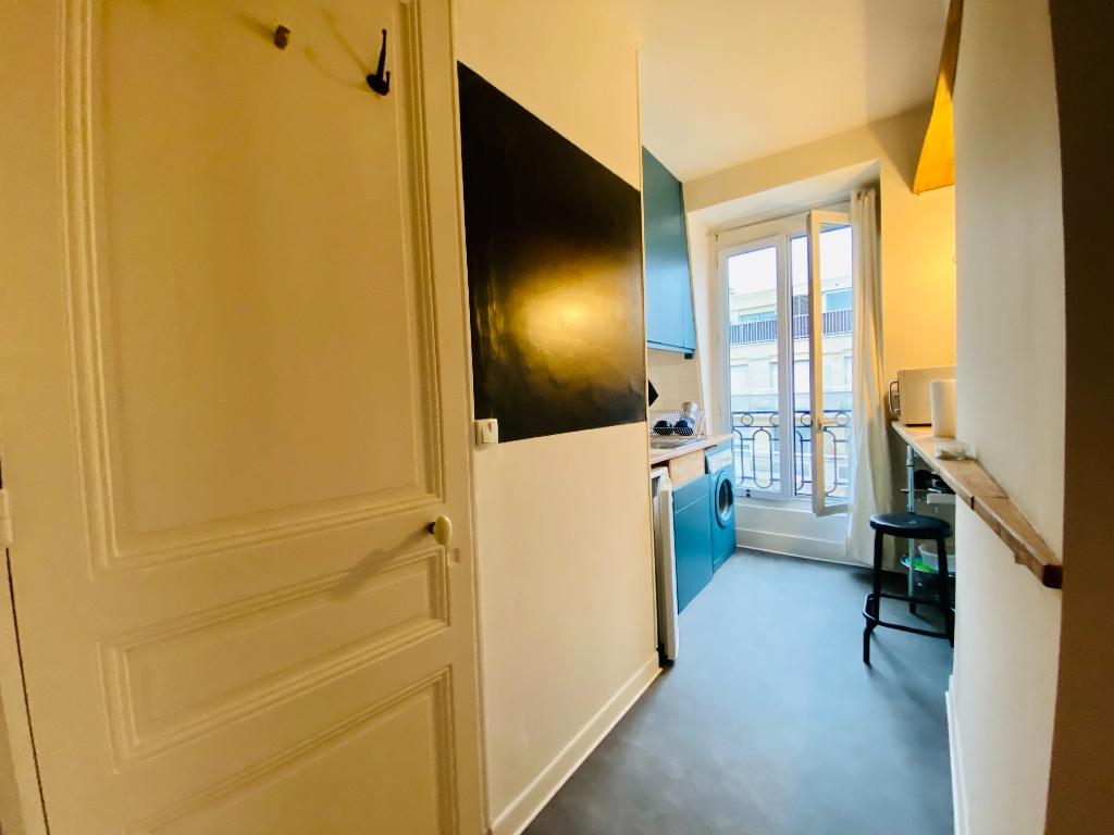 Paris apartment 1 room (s) 19.22 m2 6