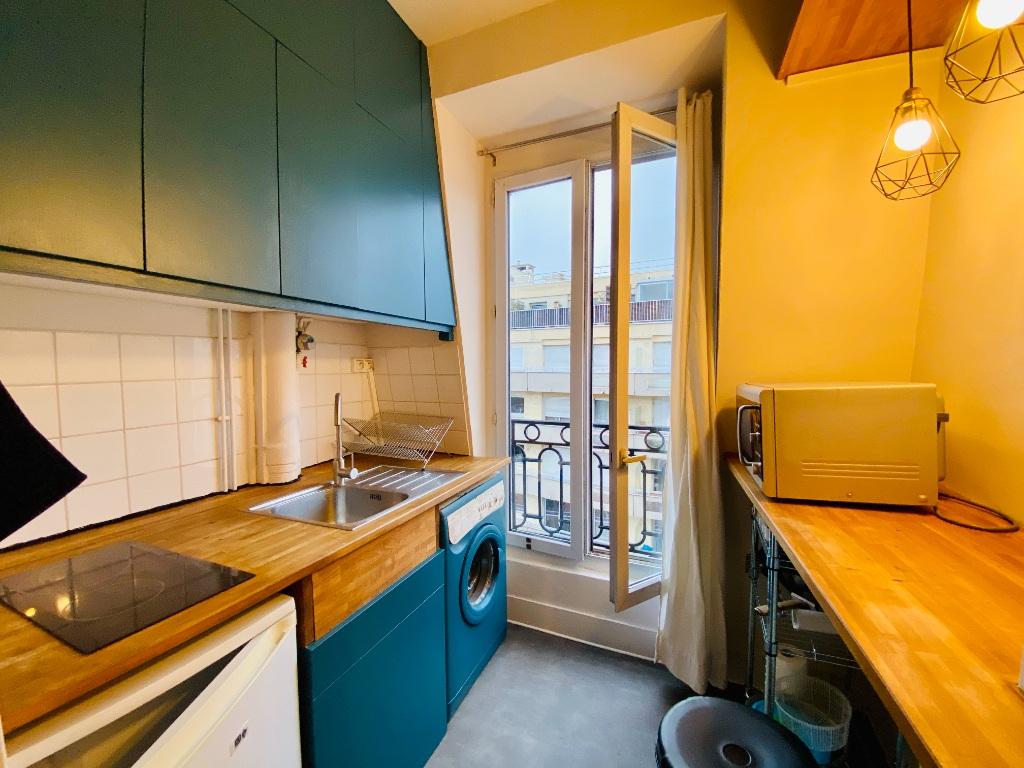 Paris apartment 1 room (s) 19.22 m2 8