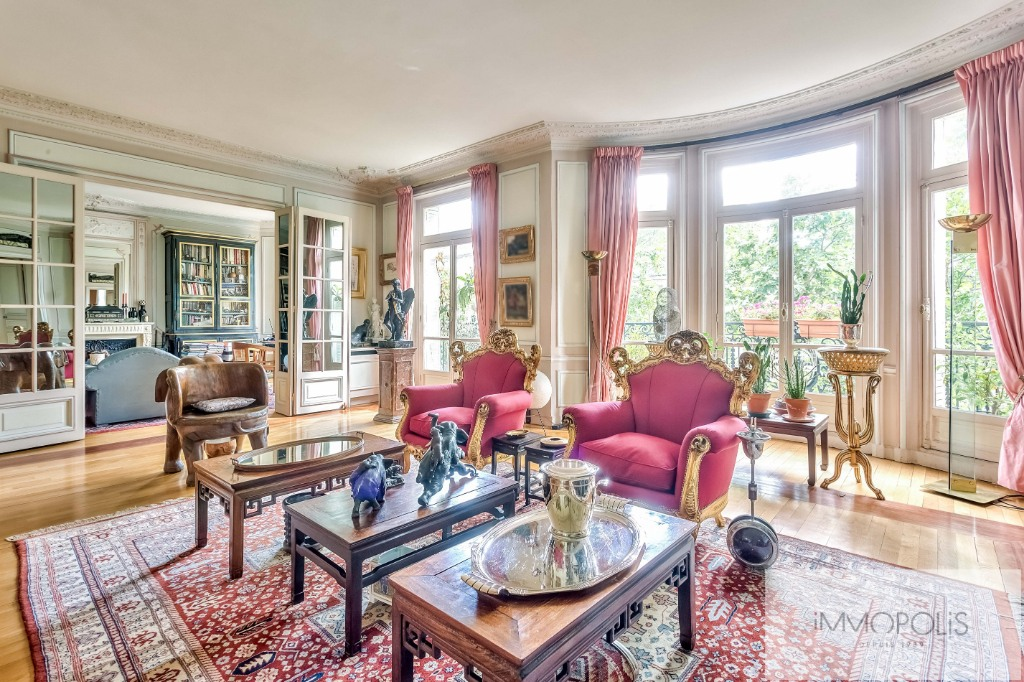 Appartement de réception Paris VII – 6 pièces de 205m2 2