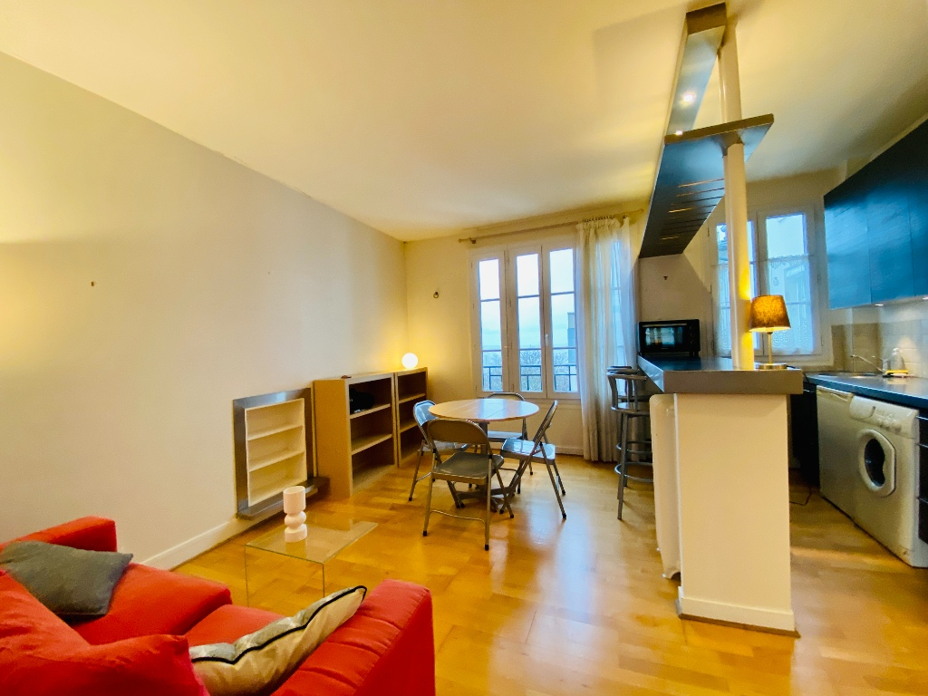 Two furnished rooms – Exceptional area in the heart of Montmartre 1