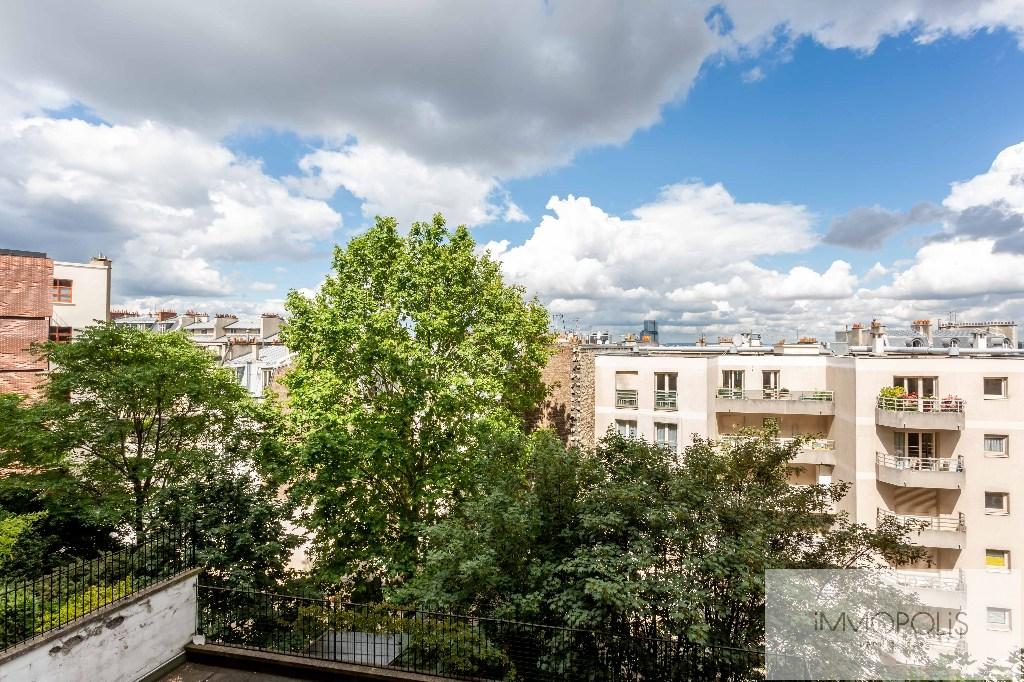 Montmartre, rue Caulaincourt, bel appartement de 76 M² en 2e étage avec ascenseur, beaux volumes ! 6