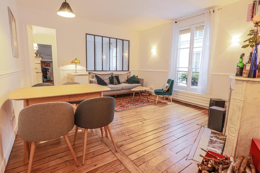 Beautiful 3 rooms Rue Custine 1