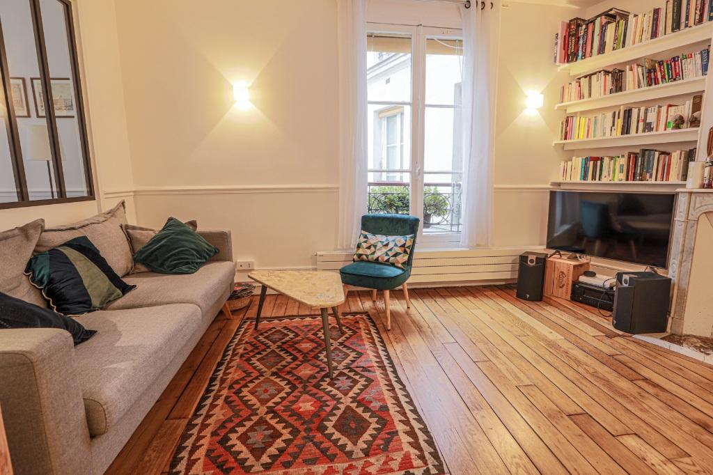 Beautiful 3 rooms Rue Custine 2